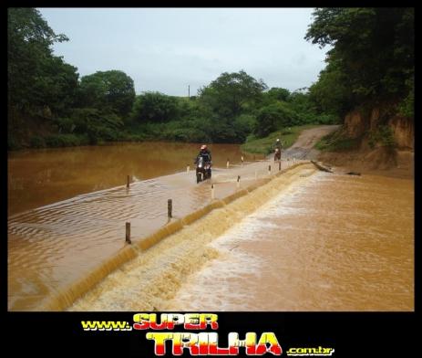 Travessia do Rio Verde Grande, em Glaucilândia
