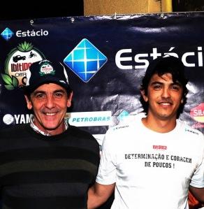 Manoel e Thiago Resende, organizadores do Ibitipoca Off Road