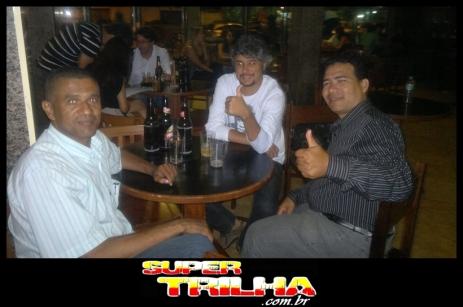 Rubão (TV a Cabo - Canal 20), Christiano Jilvan (Jornal de Notícias) e Nairlan Clayton (TV Geraes) - A turma da imprensa esteve presente registrando tudo