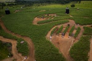 Imagem aérea do circuito