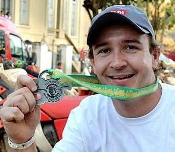 Rodrigo Amaral, que corre a temporada 2013 pela Gas Gas, é o lider do Campeonato Brasileiro