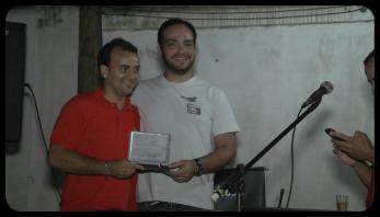 Lucio Caldeira e Enio Sousa