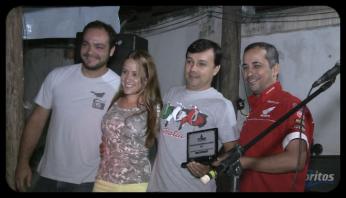 Enio, Lara, Léo Cebola e Janjão