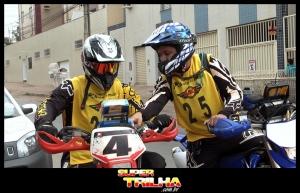 Filipe Senra (E) conquistou o 3º lugar na sua primeira prova. Vitor Madureira (D) foi o vencedor.