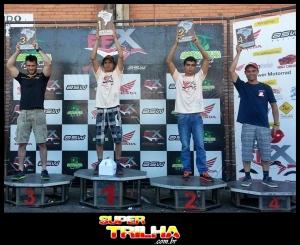 Pódio da Categoria E2, com vitória do curitibano Loandro Anton - Foto: Arquivo pessoal
