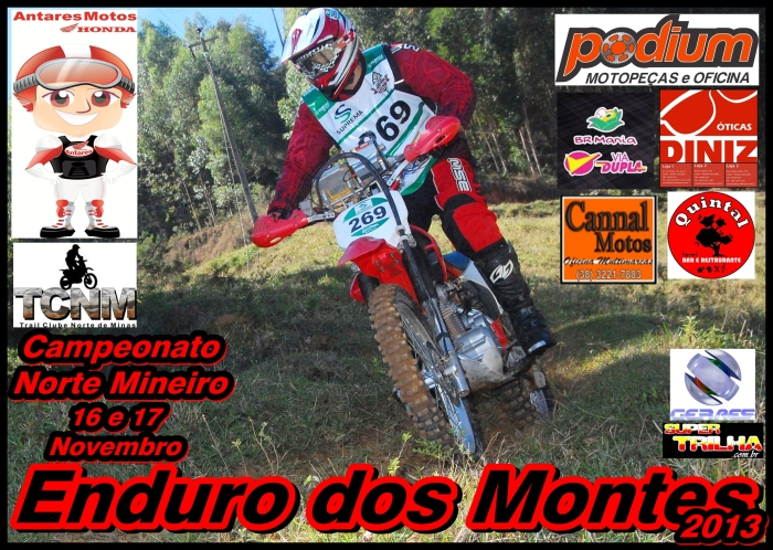 CAMP NORTE MINEIRO ENDURO - END MONTES 2013