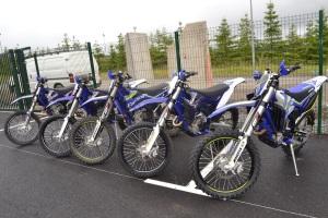 A Sherco tem uma linha completa de motos. Túlio Malta vai encarar as competições com uma SE 250i Plus (4 Tempos).
