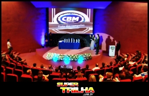 Auditório onde aconteceu a solenidade de Premiação aos Campeões de 2013 pela CBM