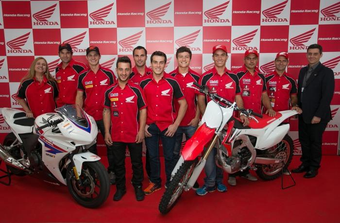 Honda apresenta Equipe Oficial para 2014  - Foto: Luiz Pires/VIPCOMM