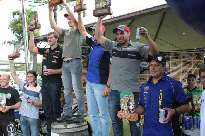 Pódio da Categoria Máster - Foto: Divulgação Enduro dos Pampas