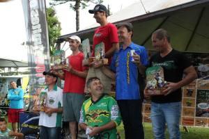 Pódio da Categoria Over 40 - Foto: Divulgação Enduro dos Pampas