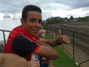 A equipe de Rally estreou no último final de semana com vitória no Espírito Santo. Em recuperação, Dário Júlio esteve  acompanhando os pilotos da equipe - Foto: Aloisio Telão Sfalsim