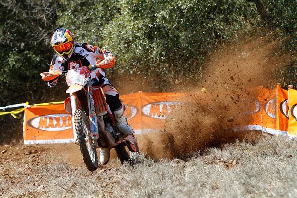 Antoine Meo foi o vencedor na categoria E2 no primeiro dia do Mundial de enduro