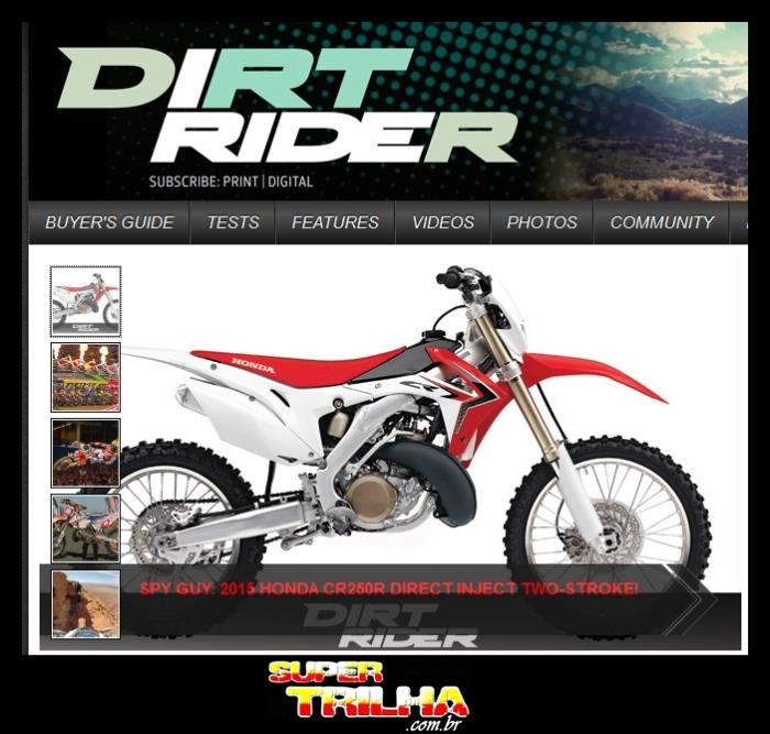 Reprodução do site dirtrider.com (Dirt Rider Magazine)
