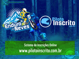 Sistema foi utilizado pelo Enduro das Neves - Campeonato Brasileiro