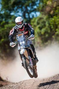 O brasileiro Ramon Sacilotti foi o sexto no dia de hoje e ocupa a sétima colocação geral - Foto: Webventure