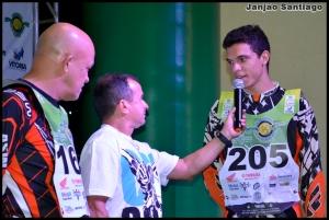 Pedro Henrique (D) está perto da conquista do título na Júnior