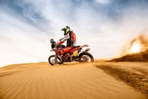 Brasileiro Jean Azevedo representa Honda South America Rally Team no Dakar 2015 Crédito: Divulgação Honda/VIPCOMM