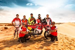 Honda South America Rally Team para o Dakar 2015 Crédito: Divulgação Honda/VIPCOMM