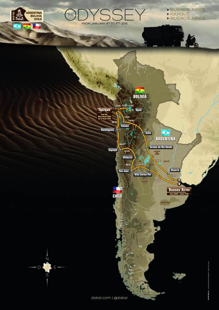 Dakar 2015 - Foto: Divulgação/Vipcomm
