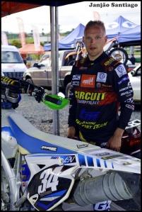 O finlandês Eero Remes, vice-campeão mundial, participou da etapa final do campeonato