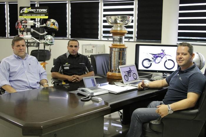 Juca Vilela, Emerson Bombadinho e Marlon Bonilha - Crédito: Pro Tork