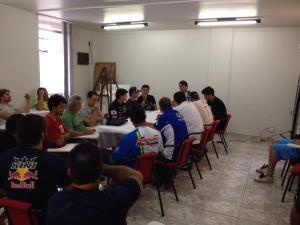 Reunião após a etapa final para balanço de 2014 e planejamento da temporada 2015