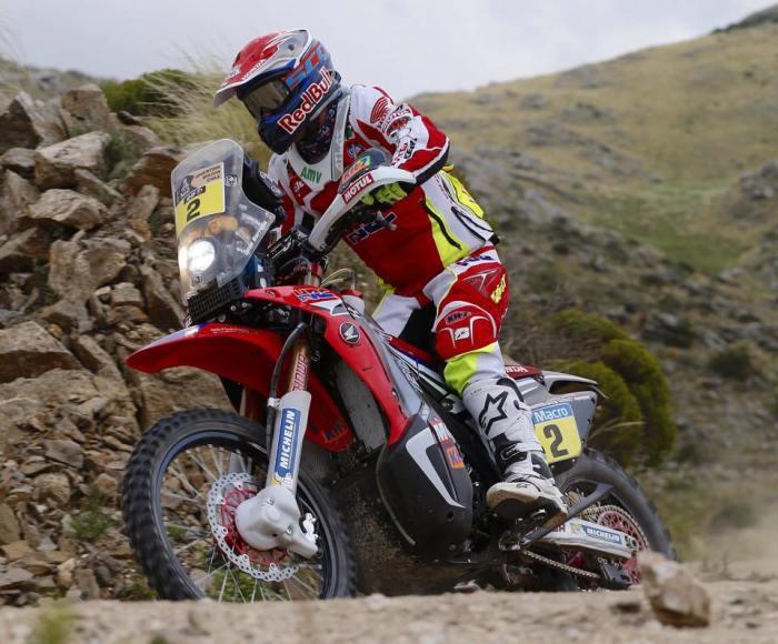 Barreda administra a vantagem no Dakar - Crédito: página pessoal/facebook
