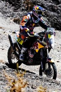 Coma conquista sua primeira vitória no Dakar 2015 - Crédito: Marcelo Maragni - Red Bull Content Pool