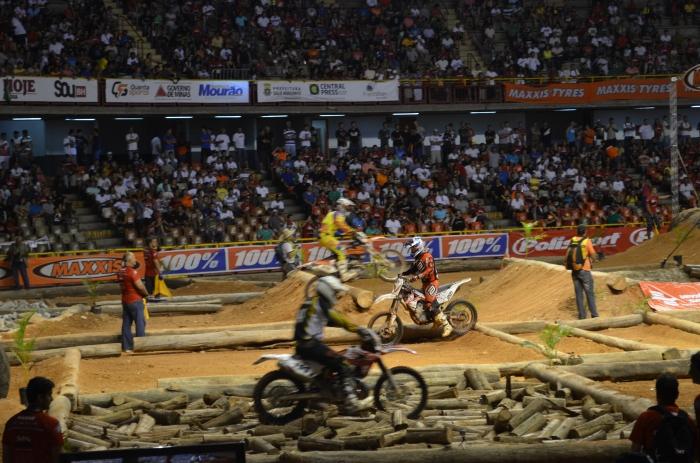 O Ginásio do Mineirinho, em Belo Horizonte, será mais uma vez palco do Mundial de Superenduro - Crédito: Supertrilha