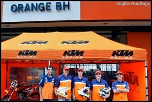 Equipe Orange BH KTM Racing - Crédito: Janjão Santiago