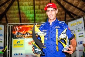 Capixaba Sandro Hoffmann venceu todos os dias do Piocerá. Ele conquistou 6 vitórias em 8 etapas disputadas na Categoria Over 40 - Crédito: Haroldo Nogueira/VIPCOMM