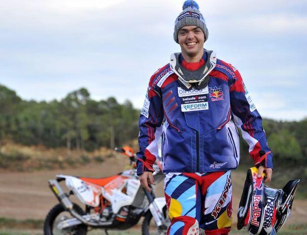 Em sua estreia no Dakar, o austríaco Matthias Walker conquistou sua primeira vitória em uma especial - Foto: Divulgação/site do piloto