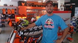 Rigor Rico, piloto Orange BH KTM Racing - Crédito: Divulgação / Y.Sports