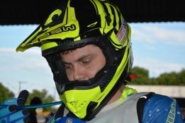 Daniel Crema fez sua estreia pela equipe Geração Yamaha - Crédito: Janjão Santiago