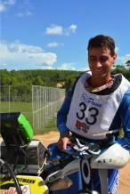 Sandro Hoffmann venceu os dois dias de prova - Crédito: Janjão Santiago