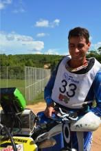 Sandro Hoffmann, líder da categoria Over 40 - Crédito: Janjão Santiago