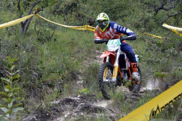 Bruno Crivilin corre em casa e defende a liderança do campeonato - Crédito: Janjão Santiago