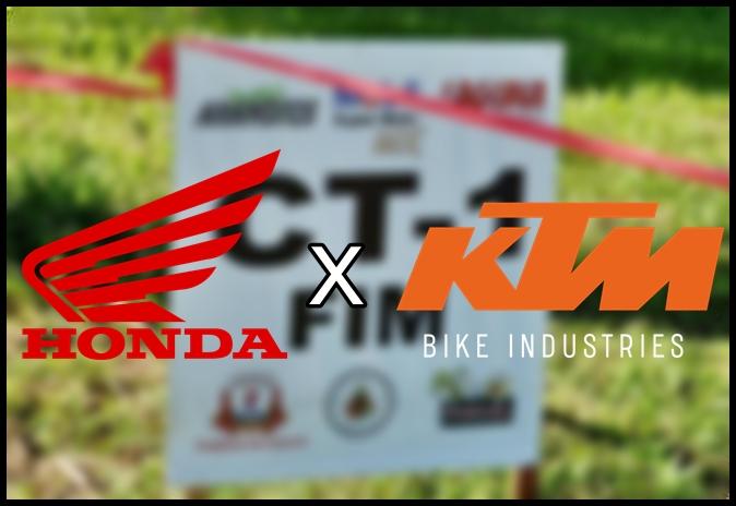 Honda X KTM