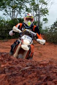 Bruno Mourão lidera a categoria Júnior - Crédito: Janjão Santiago