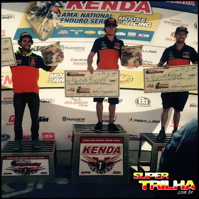 Ian Blythe, da Orange BH KTM Racing conquista terceiro lugar no Ama National Enduro - Crédito: National Enduro Promotions Group