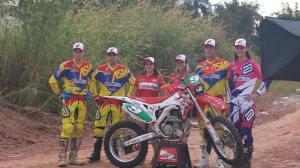 A Equipe Motofield Honda estará presente com todos seus integrantes na prova - Crédito: Ronald Santi/Arquivo Pessoal