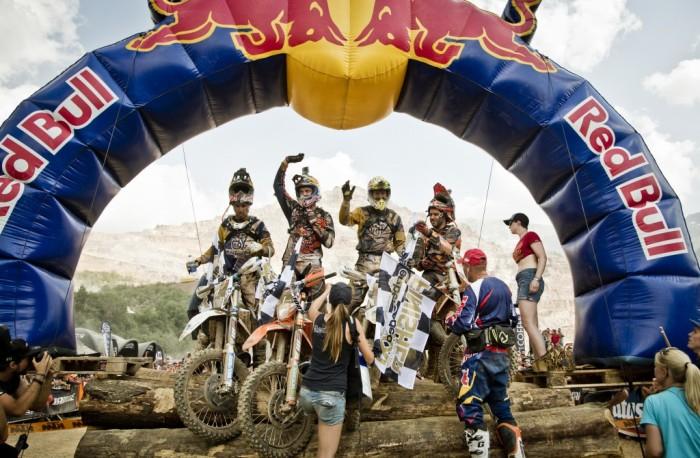 Podio Erzberg 2015 - Crédito: Red Bull Imagens