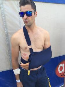 Pela Renet lesionou o ombro de fica de fora do restante da temporada - Crédito: Divulgação ABC Comunicação