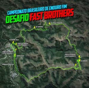 5° Desafio Fast Brothers - Mapa