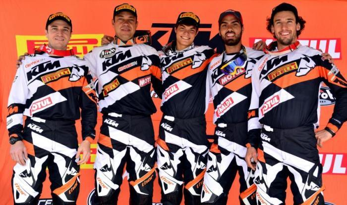 Equipe Orange BH KTM Racing 2015 - Crédito: Janjão Santiago