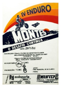 IV Enduro dos Montes - 1986