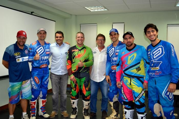 Reunião da Comissão de Pilotos com o presidente da CBM Firmo Alves e o Diretor de Regularidade Alfredo Miranda - Crédito: Janjão Santiago