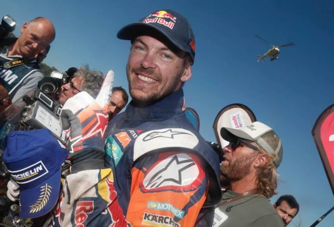 Toby Price é campeão do Dakar 2016 - Foto: Rally Dakar