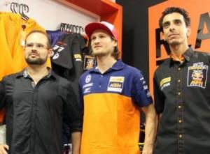 Felipe Nacif, Blazusiak e Guto - Crédito: Valdecy Mais Trilhas